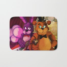 Best Brobot Buds Bath Mat