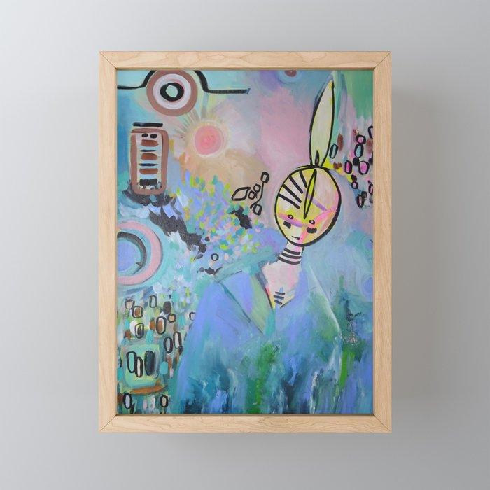 Saaskia Framed Mini Art Print