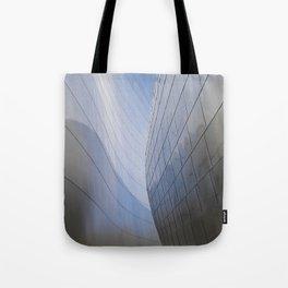 METALLIC WAVES Tote Bag