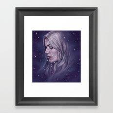 Stars Fall Silent Framed Art Print