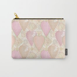 Retro . Valentine's Day . Carry-All Pouch