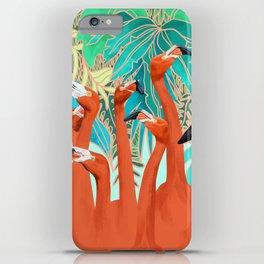 Flamingo Party iPhone Case