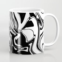 Liquid Marble B&W 028 Coffee Mug