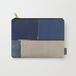 Toned Down Denim Carry-All Pouch
