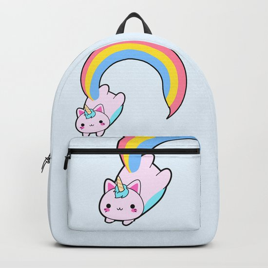 Kawaii proud rainbow cattycorn by eugeniaart