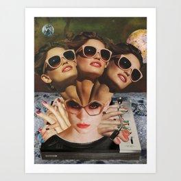Collage 15 Art Print