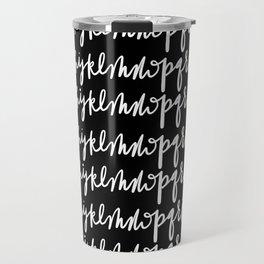 Alphabetical Travel Mug