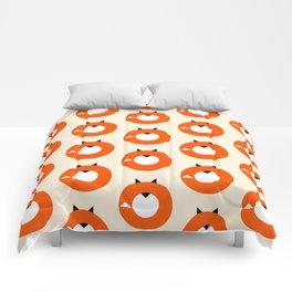 A Most Minimalist Fox Comforters