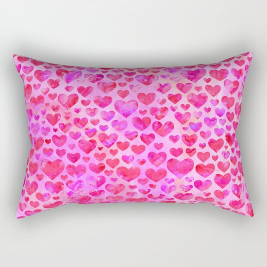 Heart Pattern 02 Rectangular Pillow