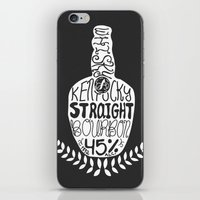 kentucky iPhone & iPod Skins featuring Kentucky Whisky by Geryes