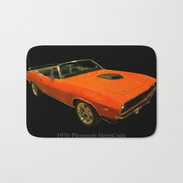 1970 Plymouth Hemicuda Convertible Bath Mat