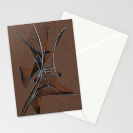 Stone Curve Abstract Stationery Cards