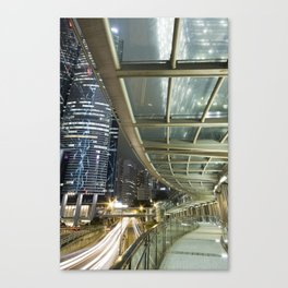 Hong Kong-Night View Canvas Print