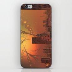 Spherople Alien City iPhone & iPod Skin
