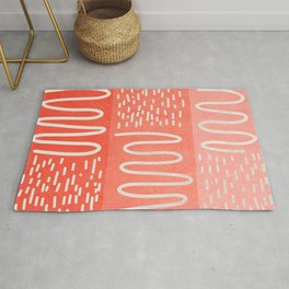 Graphic 879 // Coral Snake River Rug