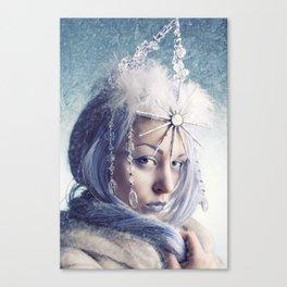 Winter Voltage Canvas Print