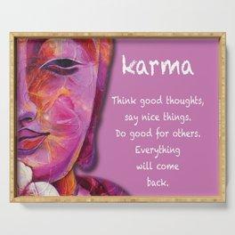 Karma Serving Tray