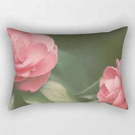 Camellias Rectangular Pillow