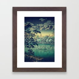 At Yasa Bay Framed Art Print