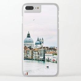 Grand Canal Venice Clear iPhone Case