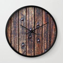 Rivets Wall Clock