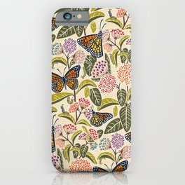 Save Our Monarchs iPhone Case