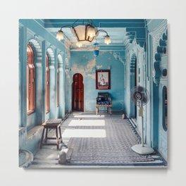 The Blue Room Metal Print