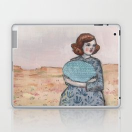 she held tight to her memory of the sea Laptop & iPad Skin