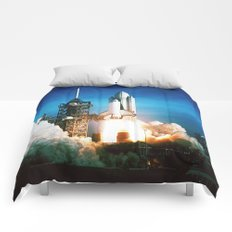 Space Shuttle Launch Comforters