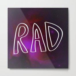 Rad Galaxy Metal Print