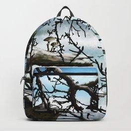 Winter in the Wilderness Landscape Backpack