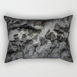 Iceland Rock wall Rectangular Pillow