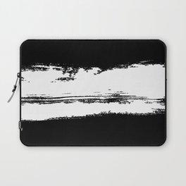 B&W Paint Laptop Sleeve