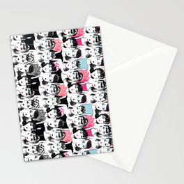 Barbie is the new black Stationery Cards