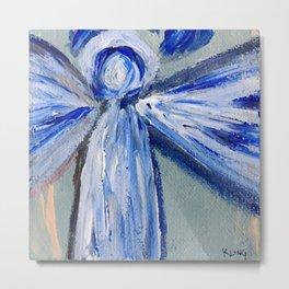 Impressionistic Angel Metal Print