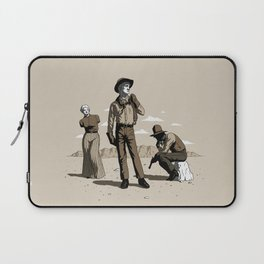Stone-Cold Western Laptop Sleeve