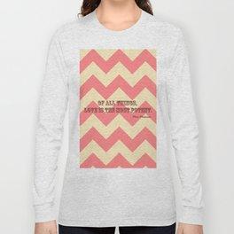 Chevron Love Long Sleeve T-shirt