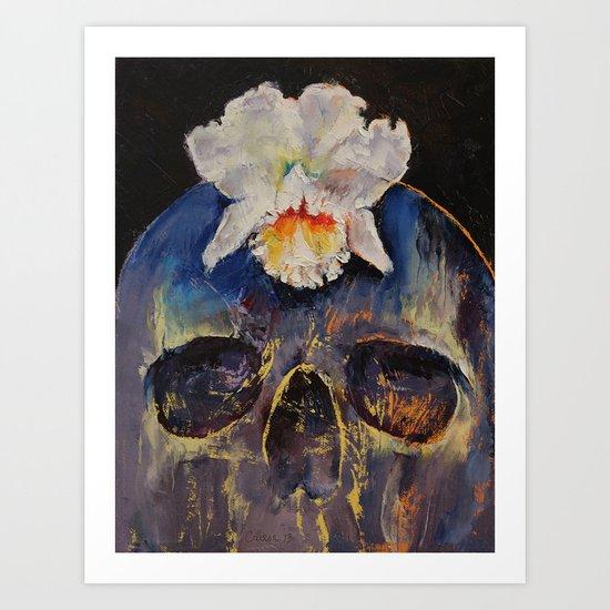 Voodoo Skull Art Print