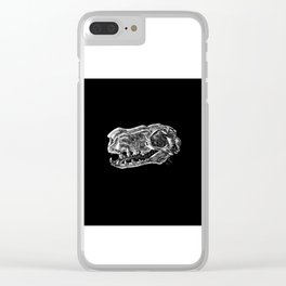 The Fig Eater Clear iPhone Case