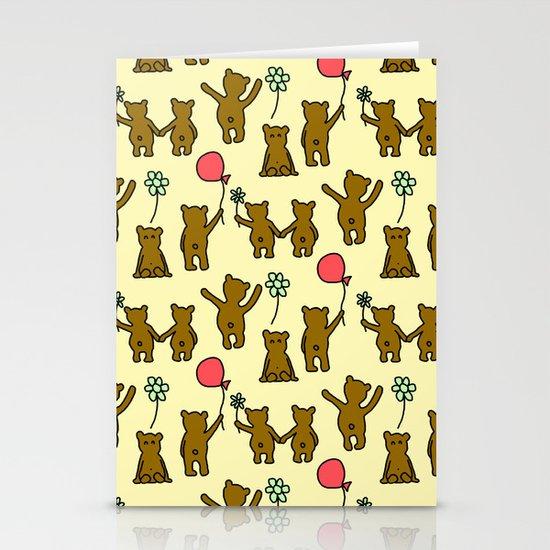 Happy Teddies  Stationery Cards
