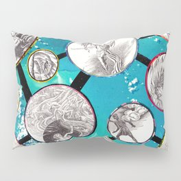 Mythical Molecules Pillow Sham