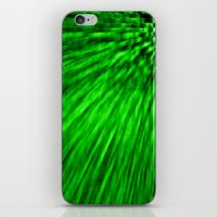 emerald iPhone & iPod Skins featuring Emerald by SimplyChic