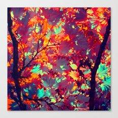 autumn tree X Canvas Print