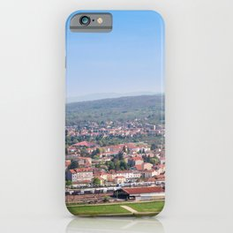 Cityscape Against Sky iPhone Case