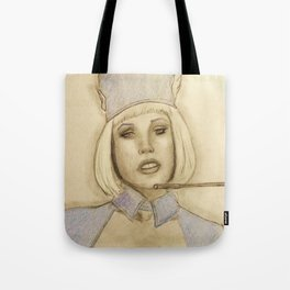 Please assume your individual position Tote Bag