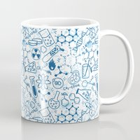 chemistry Mugs featuring Chemistry by SandiTyche