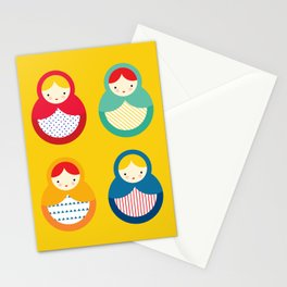 Russian Nesting Dolls / Matryoshka Stationery Cards