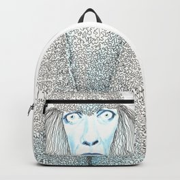 Weird poodles - don't worry, be happy Backpack