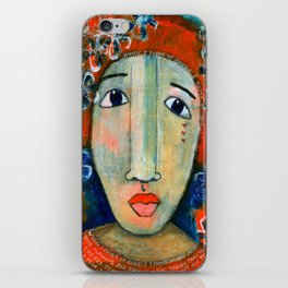 Mixed Media - When I think of angels I think of you.. iPhone Skin