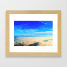 Sky love Framed Art Print